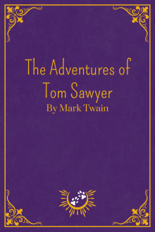 Book Cover of Tom Sawyer, by Mark Twain