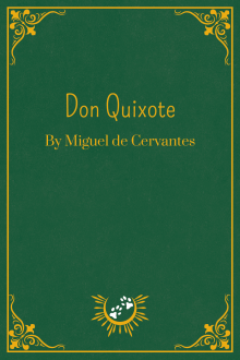 Book Cover of Don Quixote, by Miguel de Cervantes